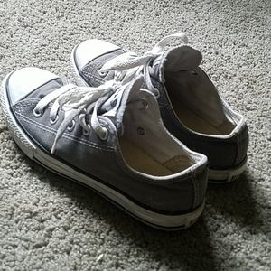 🌟3/$20 Converse All Star boys gray shoes